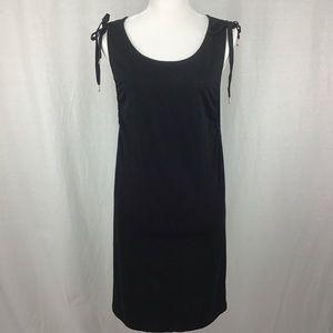 Sanctuary Midsummer Tie-Shoulder Dress Black M